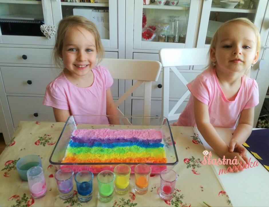 Farebné pokusy a aktivity - Šťastná maminka blog