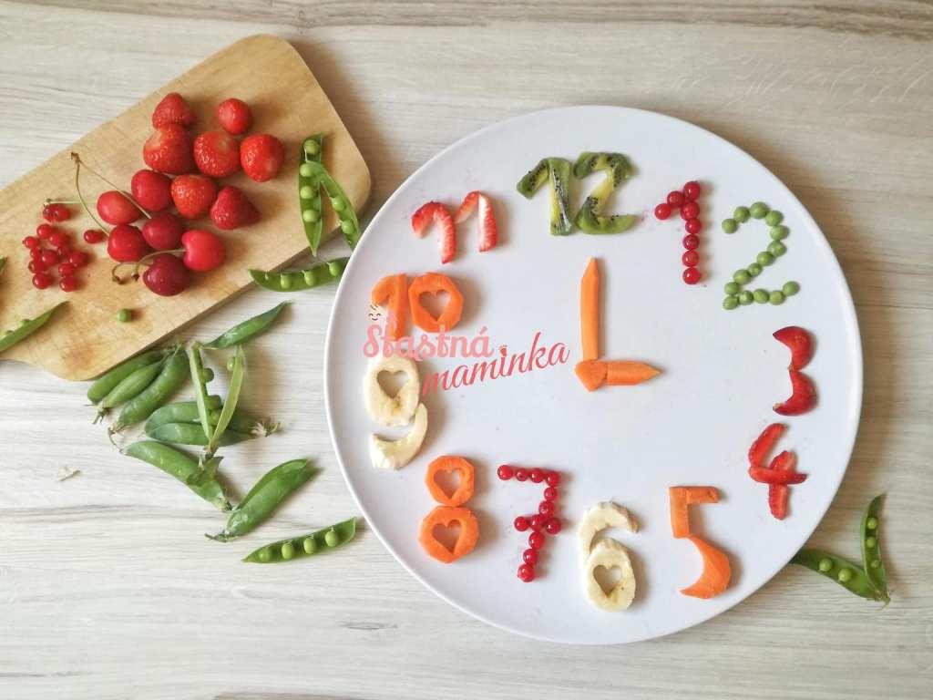 Zdravá strava, veselé tanieriky