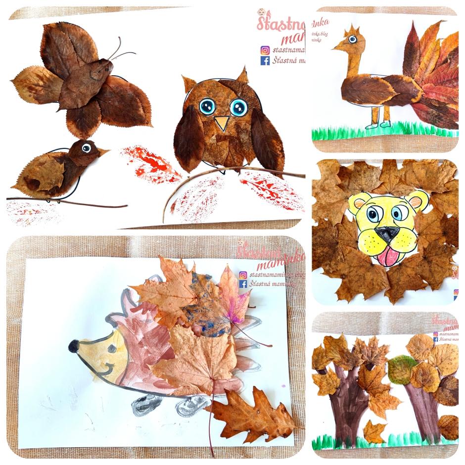 Šťastná maminka blog_jesenné tvorenie